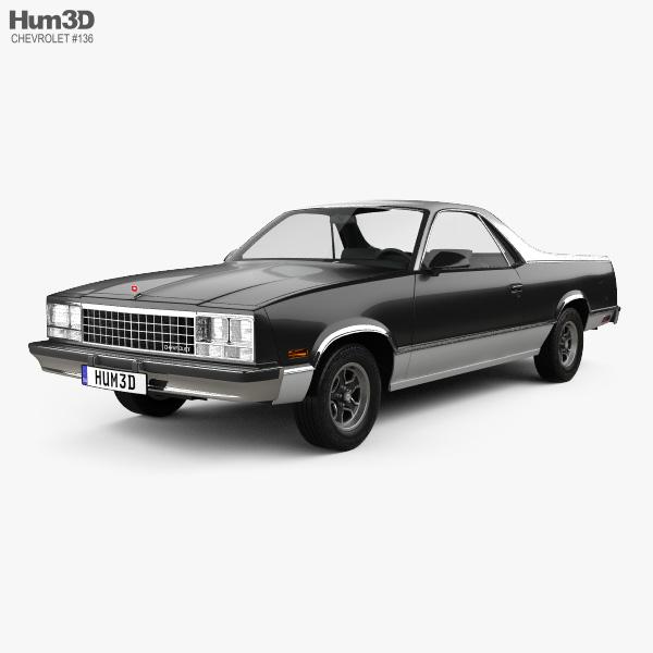 Chevrolet El Camino 1982 3D model