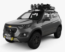 Chevrolet NIVA 2014 3D model