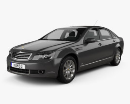Chevrolet Caprice Royale 2014 3D model