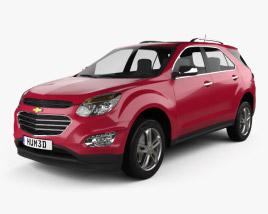 3D model of Chevrolet Equinox 2016