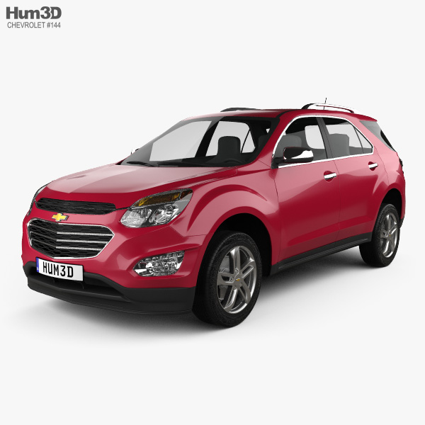 3D model of Chevrolet Equinox 2016