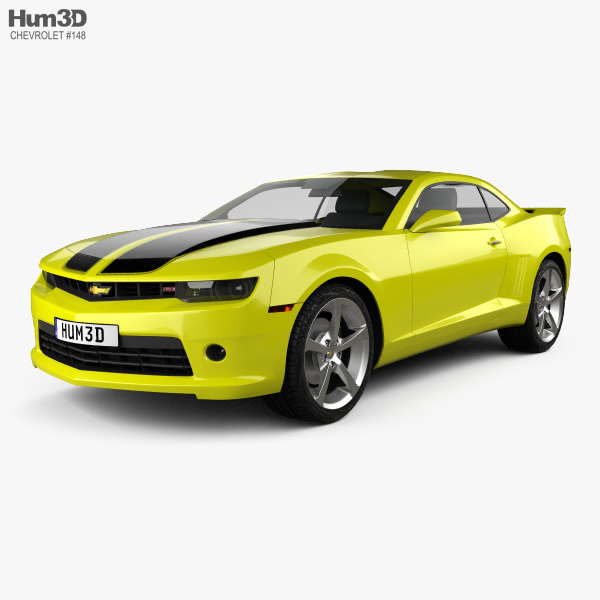 Chevrolet Camaro RS coupe 2014 3D model