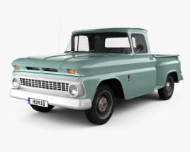 3D model of Chevrolet C10 (K10) 1963