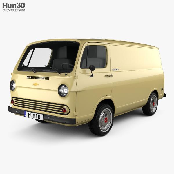 Chevrolet G10 Chevy Van 1964 3D model
