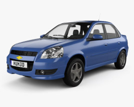 3D model of Chevrolet Chevy C2 2009