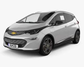 3D model of Chevrolet Bolt EV 2017