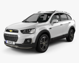 3D model of Chevrolet Captiva (JP) 2015