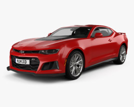 3D model of Chevrolet Camaro ZL1 2016