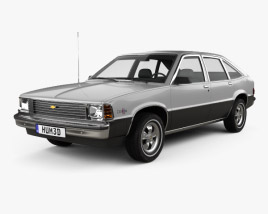 3D model of Chevrolet Citation 1980