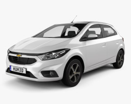 3D model of Chevrolet Onix 2016