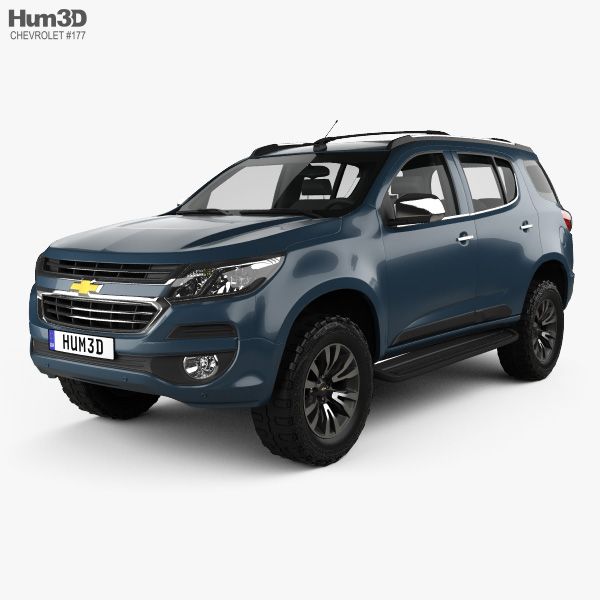 3D model of Chevrolet TrailBlazer 2016