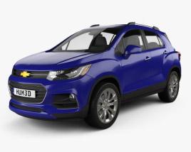 3D model of Chevrolet Trax 2017