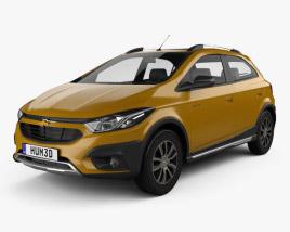 3D model of Chevrolet Onix Activ 2016