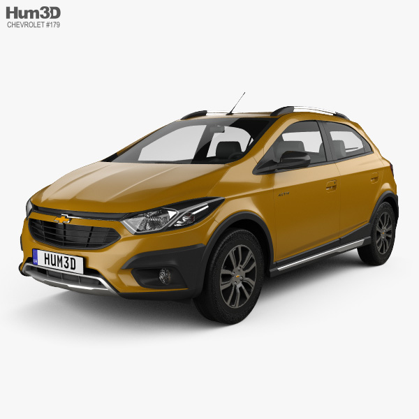 Chevrolet Onix Activ 2016 3D model