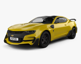 3D model of Chevrolet Camaro Bumblebee 2017