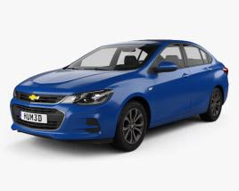 3D model of Chevrolet Cavalier 2016