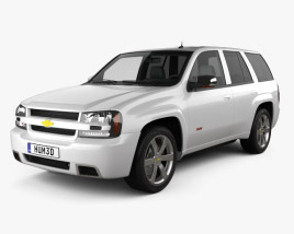 Chevrolet TrailBlazer SS 2002 3D model