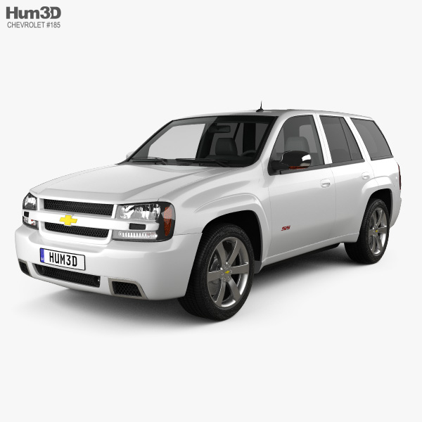 3D model of Chevrolet TrailBlazer SS 2002