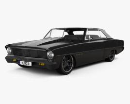 3D model of Chevrolet 1967 Nova 2.0 2015
