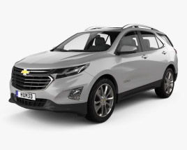 3D model of Chevrolet Equinox (CN) 2018