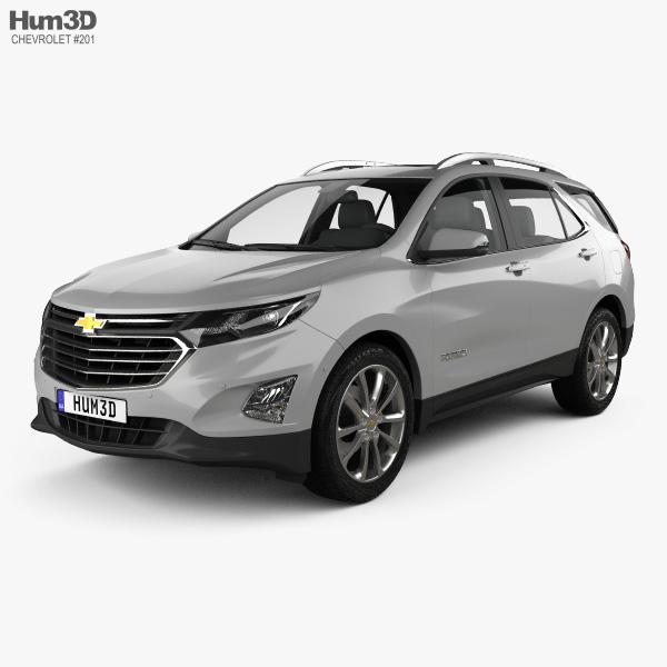 3D model of Chevrolet Equinox (CN) 2018