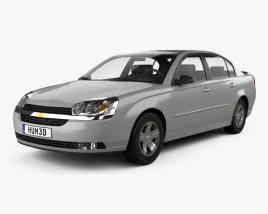 3D model of Chevrolet Malibu 2004