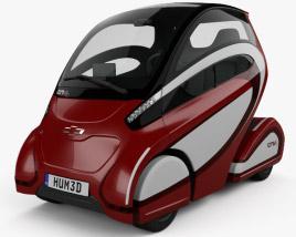 3D model of Chevrolet EN-V 2-0 2017