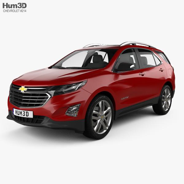 3D model of Chevrolet Equinox Premier 2018