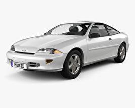 3D model of Chevrolet Cavalier Z24 1998