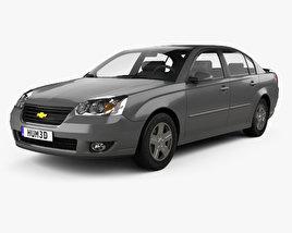3D model of Chevrolet Malibu LTZ 2004
