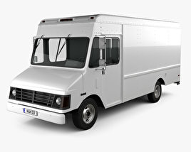 3D model of Chevrolet P30 Van 1995