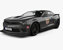 3D model of Chevrolet Camaro Z28 Pace Car coupe 2014