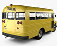 Chevrolet 4500 School Bus 1956 3d model