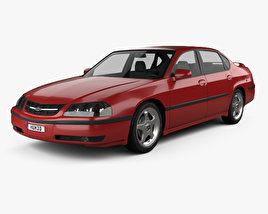 3D model of Chevrolet Impala SS 2004
