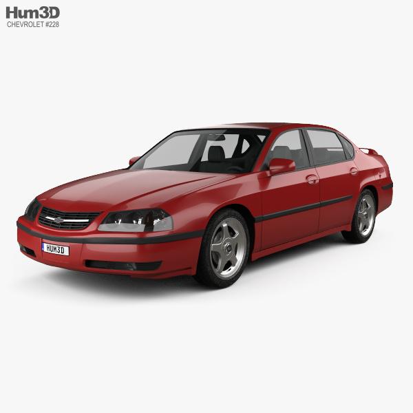 Chevrolet Impala SS 2004 3D model
