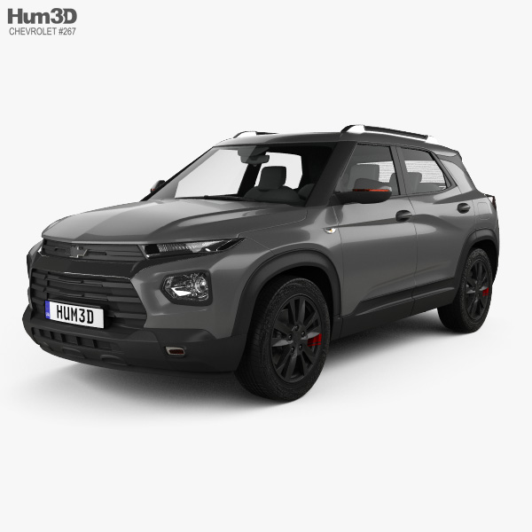 3D model of Chevrolet Trailblazer 2020