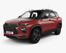 3D model of Chevrolet Trailblazer RS 2020