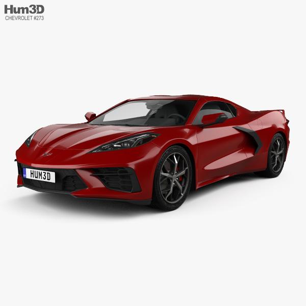 Chevrolet Corvette Stingray 2020 3D model