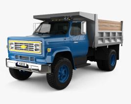 3D model of Chevrolet C70 Dump Truck 1979