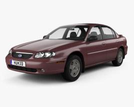 3D model of Chevrolet Malibu 1996