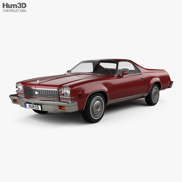 Chevrolet El Camino 1973 3D model