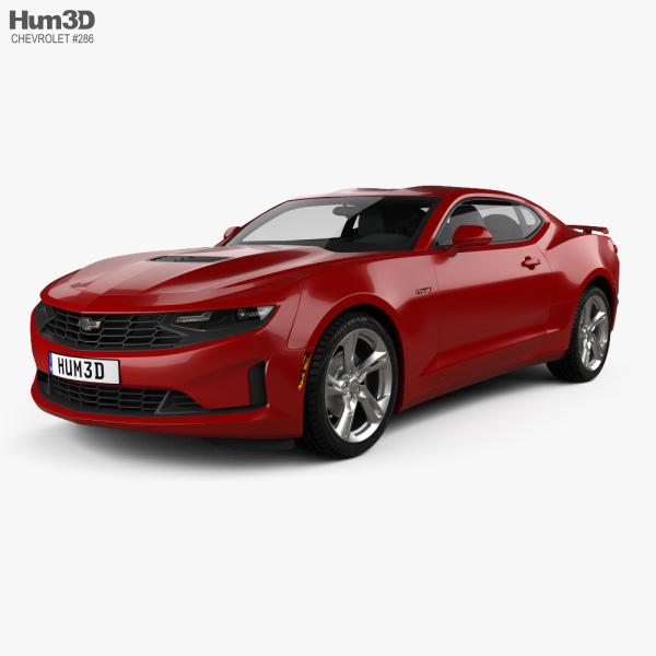 Chevrolet Camaro coupe LT1 2020 3D model