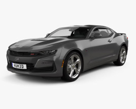 3D model of Chevrolet Camaro SS 2020