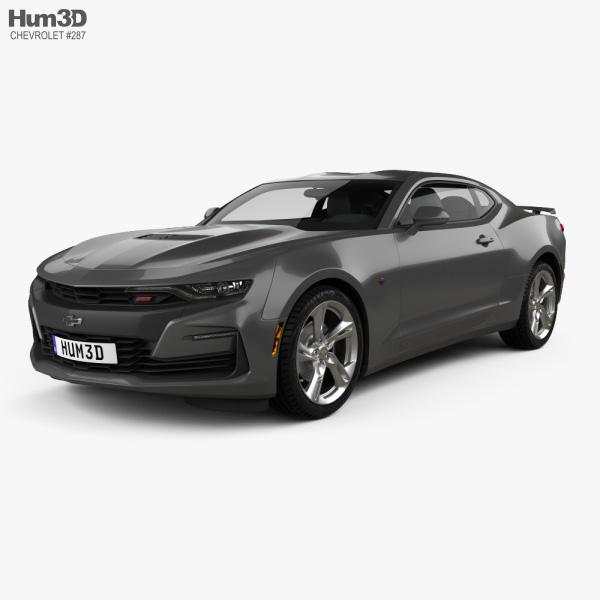 Chevrolet Camaro SS 2020 3D model