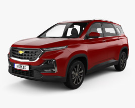 3D model of Chevrolet Captiva TH-spec 2019