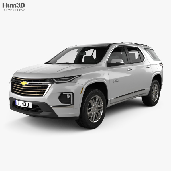 Chevrolet Traverse High Country 2020 3D model