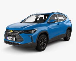 3D model of Chevrolet Tracker Premier 2020