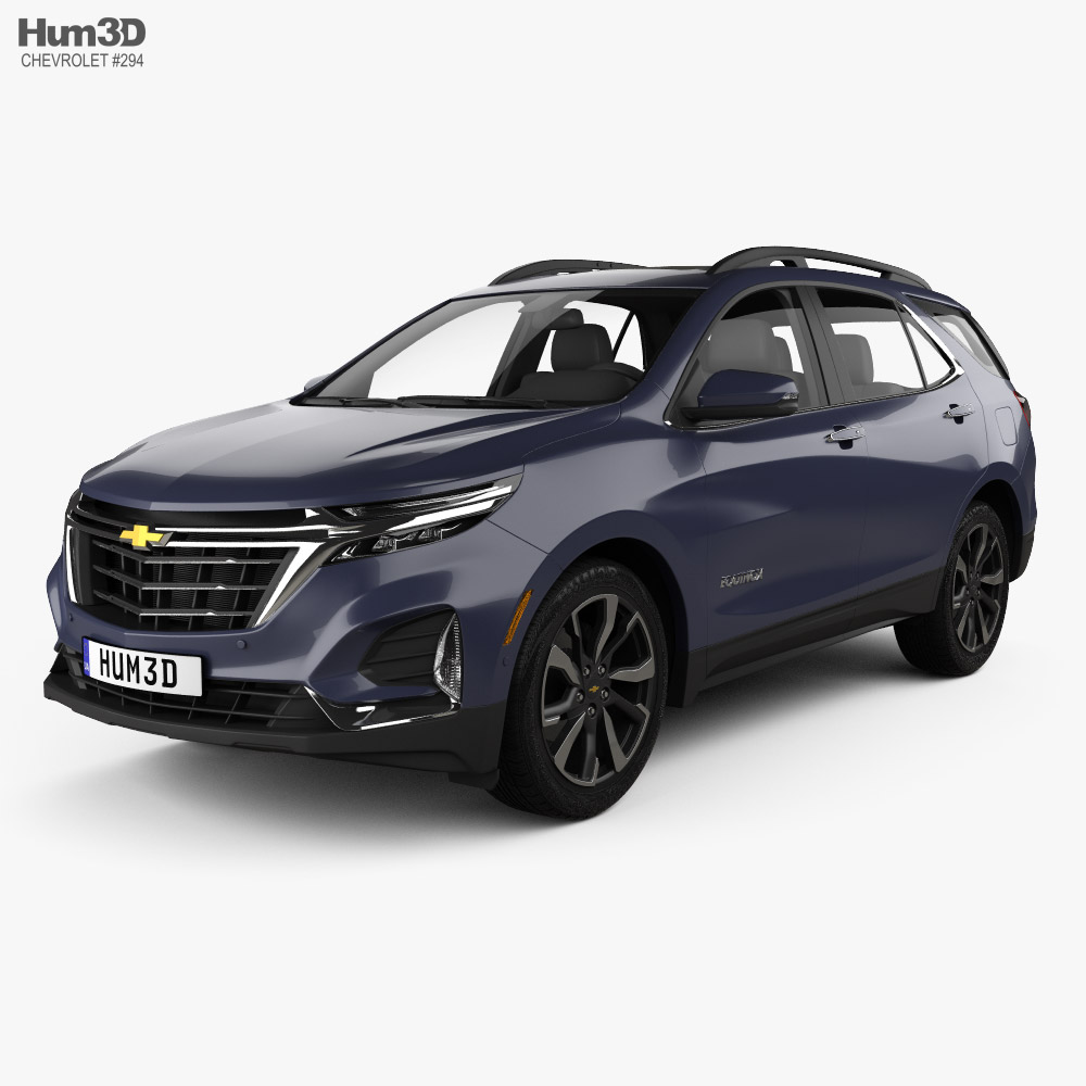 Chevrolet Equinox Premier 2020 3D model