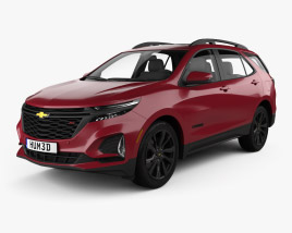 3D model of Chevrolet Equinox RS 2020