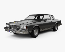 3D model of Chevrolet Caprice Landau 1985